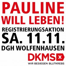 DKMS Registrierungsaktion